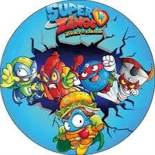 Logo figurek Super Zings
